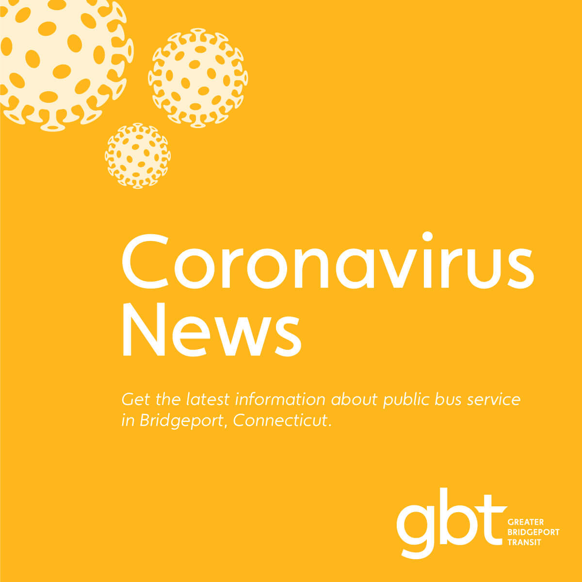 Coronavirus News #18 ● for GBT Riders & the Public ● December 15, 2020