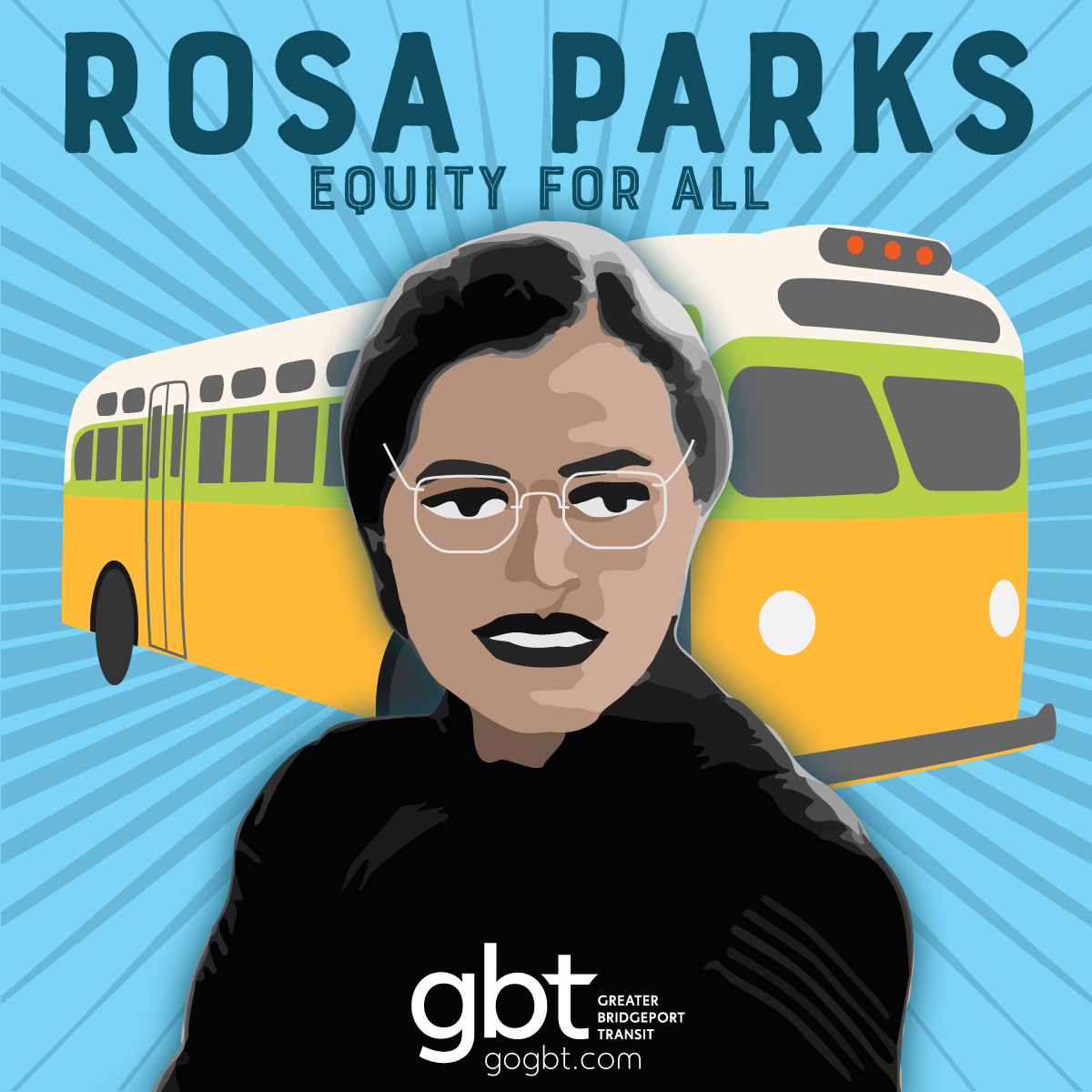 Honoring Rosa Parks 🚍👮🏾‍👨🏼‍🔧👩🏿‍🚒🚍 Take A Seat For Transit Equity
